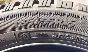 Set of 4 Arctic Claw Winter Tires 185/55R15