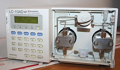 Shimadzu Lc-10advp Lc-10ad Vp Hplc Liquid Chromatograph Pump Missing Cover