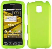 LG Optimus M Case Green