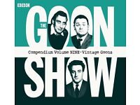 the goons, hancocks half hour, the navy lark, and other bbc audio box sets wanted