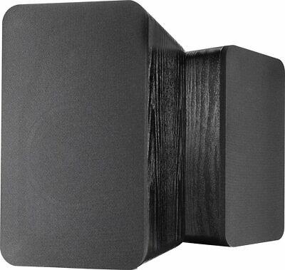 Insignia Powered Bluetooth Bookshelf Speakers (Pair) NS-HBTSS116, Black