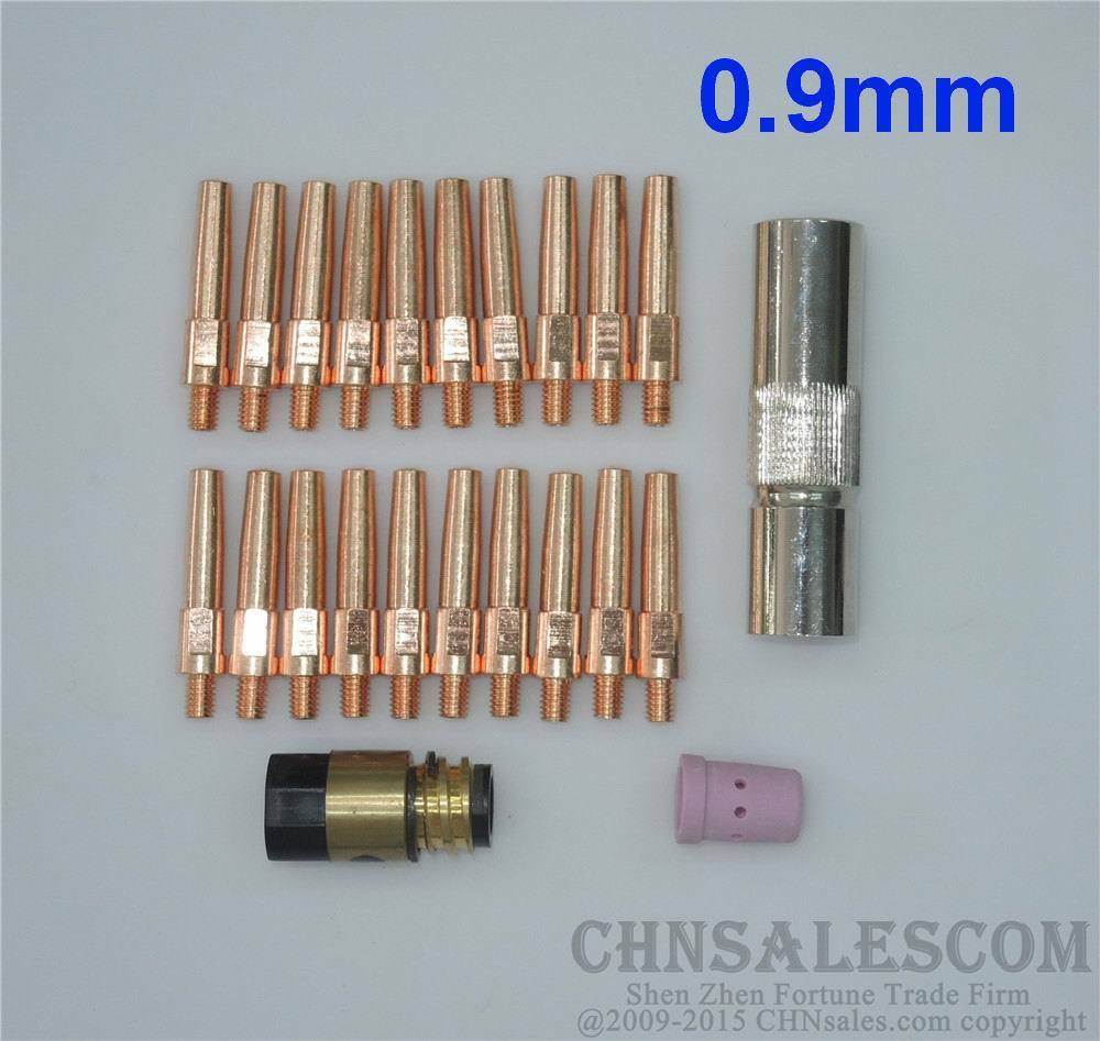 23 PCS Panasonic Type P500 MIG//MAG Welding Air cooled Torch TIP 1.2 Nozzle