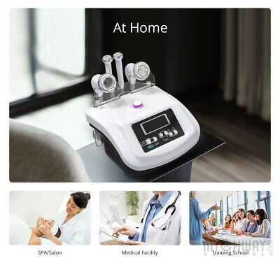 S-shape Electroporation Vacuum Body Slimming Face Care Cavitation Beauty Machine