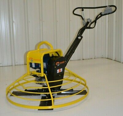 Electric Power Trowel Walk-behind Concrete 36 Cement Packer Brothers 110 Volt
