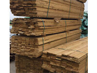 12ft treated 6x1 decking £4 each