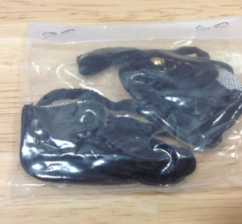 Black Doll Shoes Accessories Supplies Unused Unopened Size 10 VINTAGE