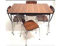 Vintage/ Retro 1960 Tavo dining table & chairs