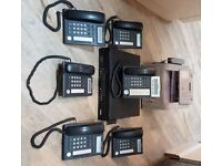 Panasonic ISDN Phone Sysytem KX-NCP500, 7 Phones & Samsung SF-560 Fax Machine