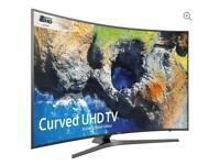 "49"" SAMSUNG Smart 4K Ultra HD HDR Curved LED TV UE49MU6670 is warranty and delivered"