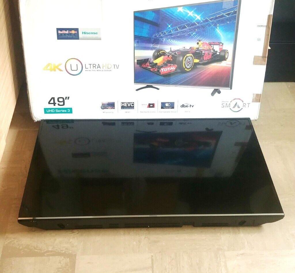 Hisense 49 inch 4k ultra HDR super smart TV Repair Faulty Spares | in  Liverpool, Merseyside | Gumtree