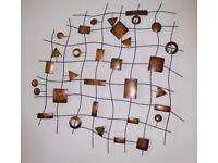 Large Abstract Modern Metal Wall Art Sculpture Hanging/Picture