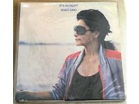 Yoko Ono ‎– It's Alright (I See Rainbows) Original UK COPY