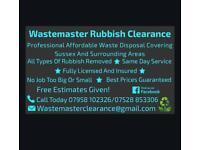 Wastemaster Rubbish Clearance