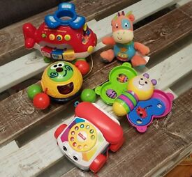 Fisher price, vtech and other baby toys bundle