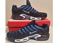 NEW NIKE TN ESSENTIAL TRAINERS - NEW WITH BOX - UK SIZE: 6 & 9 AVAILABLE