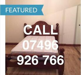 CLEAN KING SIZE DOUBLE ROOM & VERY LARGE SINGLE ROOM TO LET NEAR STATION