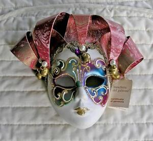 Hand Painted Wall Mask (Italy) Ceramic