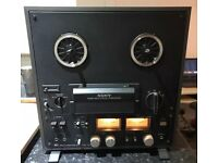 Sony TC-399 Reel To Reel Tape Recorder (1978, Black/Grey Metal) NR MINT!