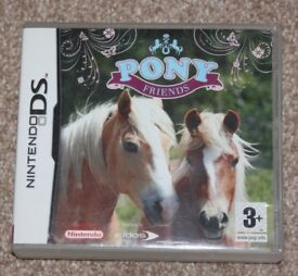 DSI GAME PONY FRIENDS 3YRS+ VERY GOOD CONDITION