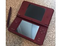 DSi XL Wine Red £70 or Offers