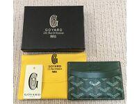 Goyard Green Wallet/Purse/Card Holder (Not Rihanna, BAPE, Kylie, Supreme, Kanye, Yeezy, NMD, Y3)