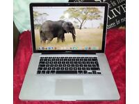 Apple MacBook Pro 15.4 inch laptop with new ultra fast SSD
