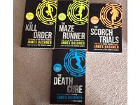 The Maze Runner Series of Books by James Dashner