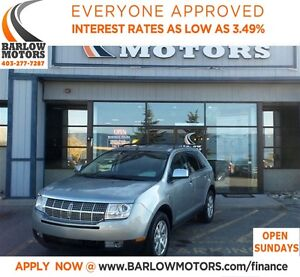 2007 Lincoln MKX AWD-LEATHER**AMVIC INSPECTION & CARPROOF PROVID