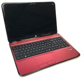 HP PAVILION AMD 1.7GHZ CPU 8GB RAM DEDICATED RADEON GPU 1TB HDD DVDRW WIFI HDMI WEBCAM 15.6 DISPLAY