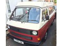 1988 T25 VW Campervan 1.9L. Leisuredrive conversion. Great condition.