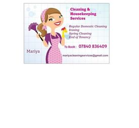 Mariya Cleaning Services and Housekeeping