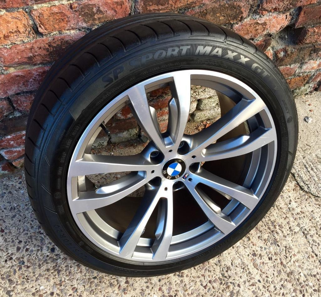 "Genuine BMW X5 X6 Front 20"" Alloy Wheel M Sport F15 E70"