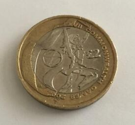 SCOTLAND COMMONWEALTH GAMES £2 TWO POUND COIN