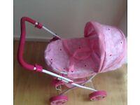 Mini pram Pink Toy