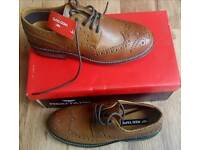 Men's smart leather shoes sizes 7 and 10