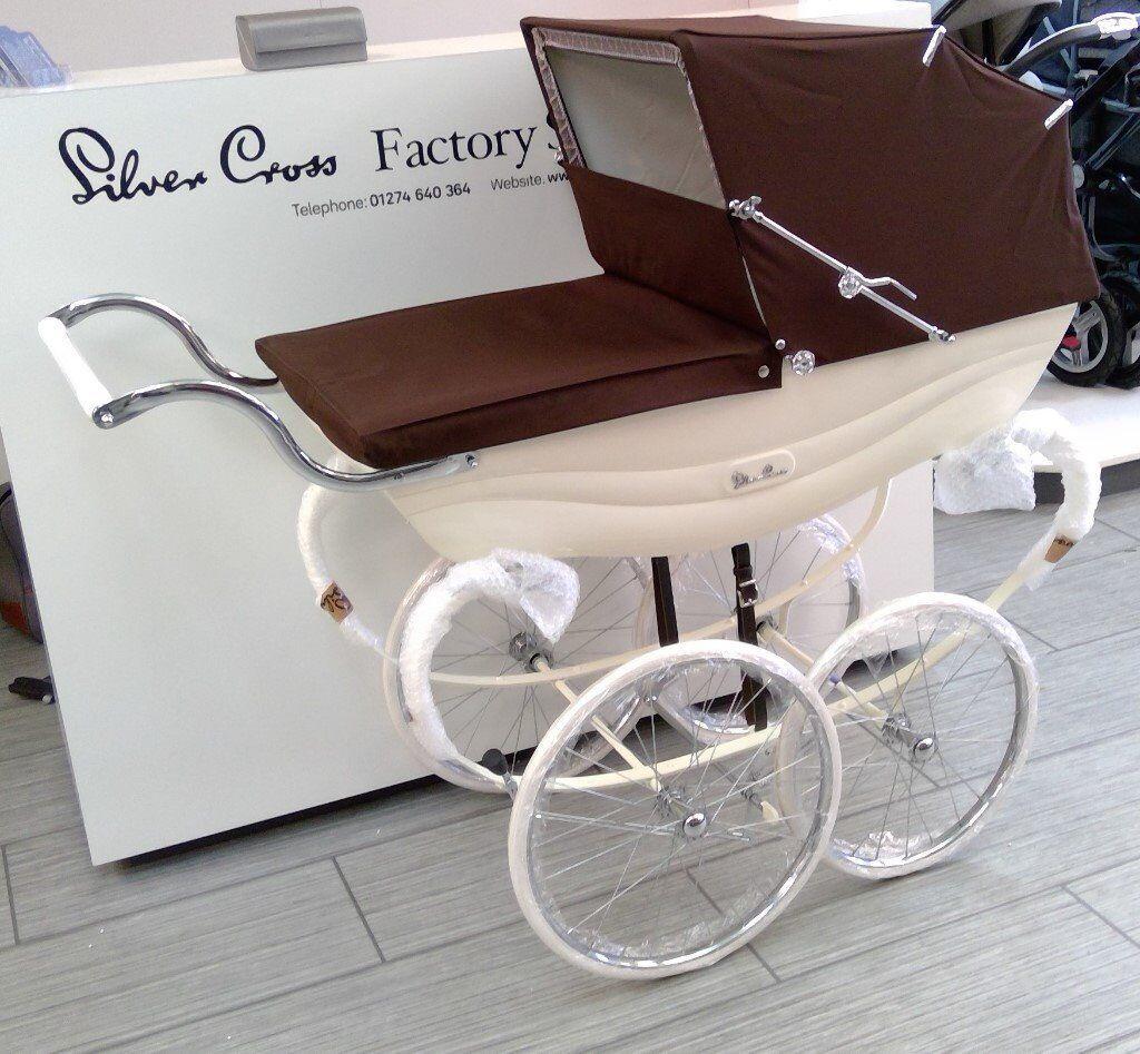 Silver Cross Balmoral Brown & Cream Reduced Brand New Stocks