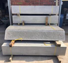 🐝Plain Concrete Fencing Base Panels * New