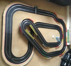 Scalextric Sport Large Layout with Flyover / Hairpin & 2 Cars