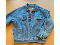 Men's Levi's large lined denim jacket VGC coats & jackets Levis