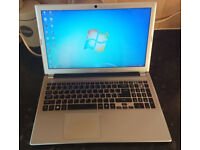 Acer laptop with Intel core i3, 8gb ram, 500 gb hard disk