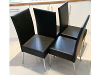 Dining Room Chairs x 4 (Nearly new)