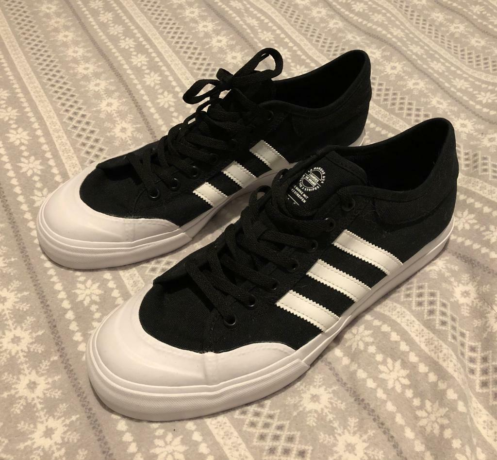 discount footlocker pictures cheap sale latest collections adidas Skateboarding Matchcourt Trainers In Black F37383 2tDby