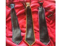 3x light up/ flashing ties - stag /wedding
