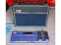 Vox AD120VT and VC12 Foot Controller with New Neutrik Sockets