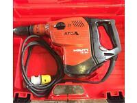 Hilti te80 breaker and drill