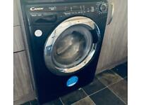 Black candy washing machine