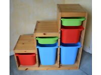 Ikea Trofast Kids Toy Storage Unit.