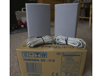 Pair of Tosiba SS-V18 speakers