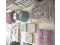Bedroom accessories and bedclothes