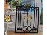 gate wrought iron single gate side gate fabricated gate
